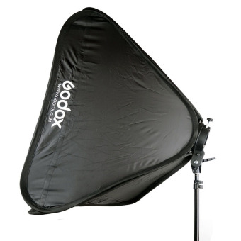 Godox S-Type Speedlite Bracket Mount Holder 60 x 60cm Softbox forStudio Photography - Black