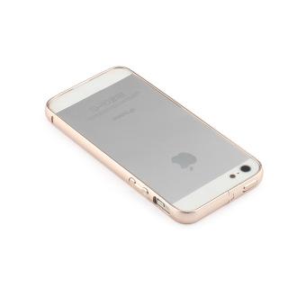 Gold Aluminum Metal Bumper Frame Case Cover For Apple iPhone 5 / 5S/ SE - 2