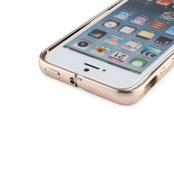 Gold Aluminum Metal Bumper Frame Case Cover For Apple iPhone 5 / 5S/ SE - 5
