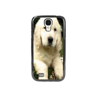 Golden Retriever Phone Case for Samsung Galaxy S4 (Black)