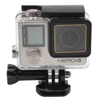 GoPro Accessories Go Pro 30M Replacement Waterproof Protective Skeleton Housing Case with Bracket for GoPro Hero 3+/4 - intl