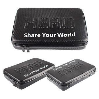 Gopro Accessories Portable M Size Waterproof Travel Storagecollection Camera Bag Case For Go pro Hero 4/5/3+/3 - intl