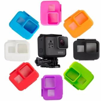 Gopro hero 5 Camera frame silicone case Cover Skin for Go pro Hero 5 Protective Frame Soft Case Action Camera Accessories