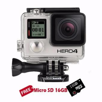 GoPro Hero4 12MP Action Camera (Black Edition)