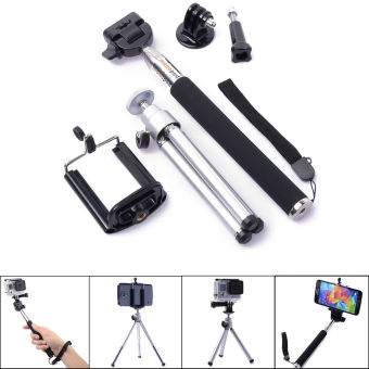 GoPro mobile phone self-timer tripod selfie stick