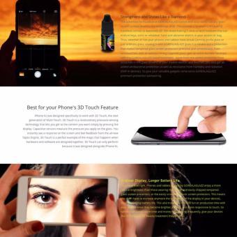 Gorealaglazz Liquid Screen Protector for iPhone - 4