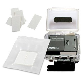 GP89 Accessories FOR GoPro 12 Pieces Reusable Anti-Fog Inserts AntiFog Recycle Inserts Inside Waterproof Housing For GoPro Hero4/3+/3/2/1 Sj4000 Xiaomi Yi