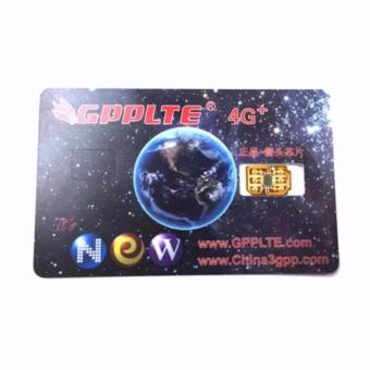 GPPLTE 4G+ GP-4 The Best Unlock and Activation SIM For iPhone 4S/5/5C/5S/5SE/6/6Plus/6S/6sPlus7/7Plus (Gold)