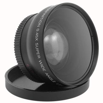 Gracefulvara Wide Angle And Macro Conversion Lens 58 mm