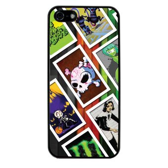 Graffiti Art Style Pattern Phone Case for iPhone 5C (Black)