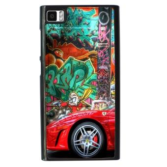 Graffiti art style Pattern Phone Case for Xiaomi Mi3 (Black)