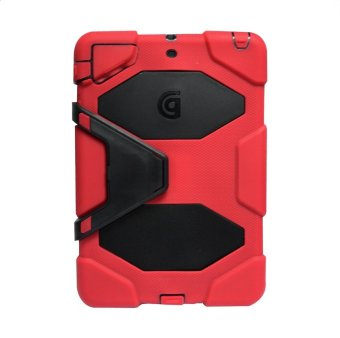 Griffin Survivor Military Hard Case for iPad Air 1 (Red)