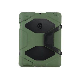 Griffin Survivor Military Hard Case for iPad Mini 1 / 2 / 3 (Green)