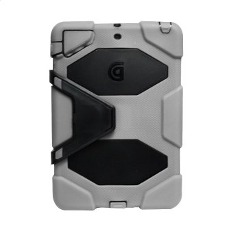Griffin Survivor Military Hard Case for iPad Mini 1 / 2 / 3 (Grey)