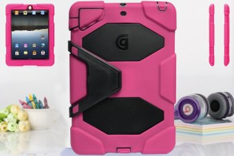 Griffin Survivor Military Hard Case for iPad Mini 1 / 2 / 3 (Pink) - 2