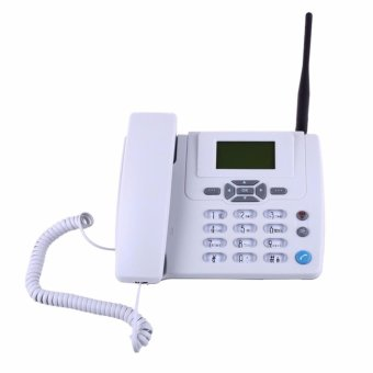 GSM Cordless Landline Telephone Home Office Hotel Bring DisplayFixed Phone White Black Corded Telephone Caller ID - intl