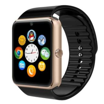 GT08 Bluetooth Smart Watch GSM Phone For Smartphone (gold-black)