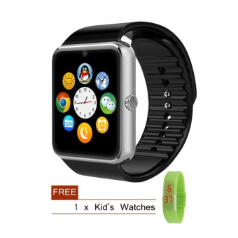GT08 SIM Card GSM GPRS Bluetooth Smart Watch for iOS & Android Cellphone - intl