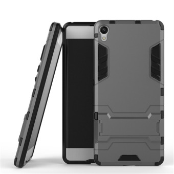 GuluGuru for Sony Xperia XA Case [2in1 Stand Holder] PC+TPU HybridBack Cover with Kickstand Holder Armor Cell Phone Case