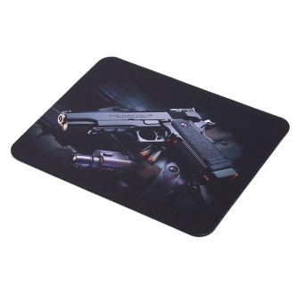 Guns Picture Anti-Slip Computer Gaming Mouse Pad Mat Mousepad22cm*18cm Price Philippines