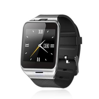 GW05 Smart Watch Android With A Sim Card Watches GPS TrackerSmartwatch And Phone Function Bluetooth WiFi Connecter Wear - intl