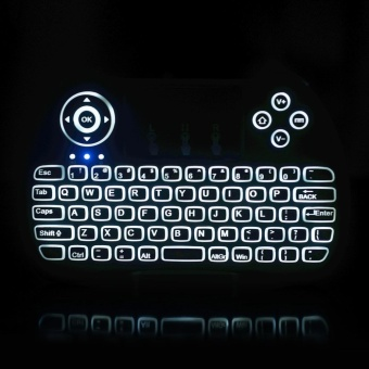 H9 2.4GHz Mini Wireless Keyboard with Touchpad Mouse Game Handle for Windows 10 / PC / Pad / Google Android TV Box / Smart TV / HTPC / IPTV / XBOX 360 / PS3 - intl - 3