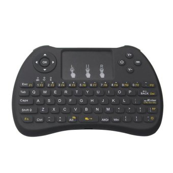 H9 Mini Keyboard 2.4 GHZ Wireless Touchpad Mouse Gaming Keyboards(Black) - intl