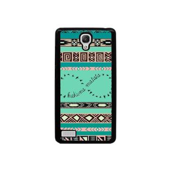 Hakuma Matata Pattern Phone Case for Xiaomi Redmi Note (Black)