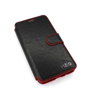Philippines | Halo Kent Leather Case for Samsung Gal. J7 Prime- Black Cheapest Price