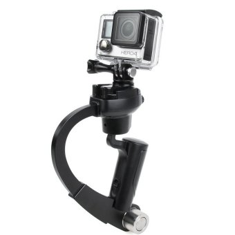 Handheld Video Stabilizer Curve Steadycam Black for Gopro Hero 4 3Sjcam SJ4000 Xiaomi Yi Action Camera