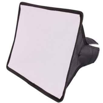 Hang-Qiao Studio Accessories Flash Softbox Mini Reflector On Camera For SpeedLight Flash Diffusers for Canon for Nikon Photo