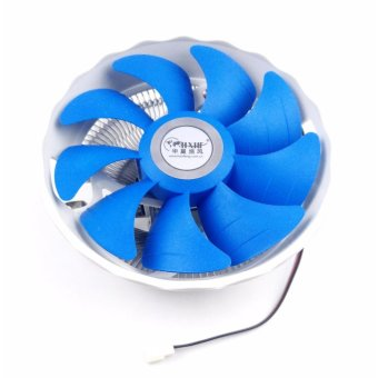 Haofeng CPU Fan for Intel 775/1150-1366 and AMD AM2-AM3+