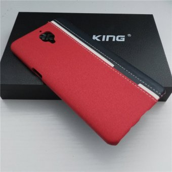 Hard PC Protective Back Cover Case For Oneplus 3 / OnePlus 3T (Red) - intl - 2