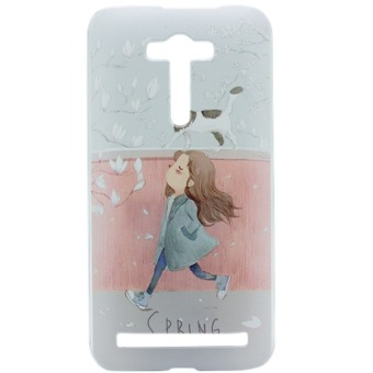 Hard Plastic Painting Back Case for ASUS ZENFONE Selfie ZD551KL(Multicolor)