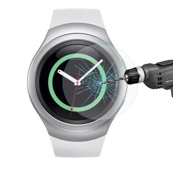 HAT PRINCE for Samsung Gear S2 Tempered Glass Screen Film 0.2mm -intl