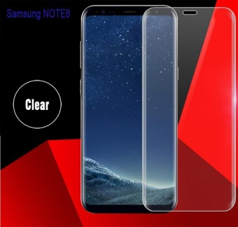 HD Tempered Glass Protector Full Coverage For Samsung Galaxy Note 8(Clear)
