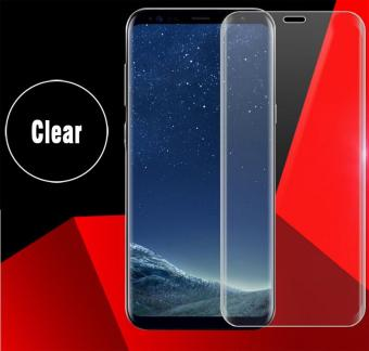 HD Tempered Glass Protector Full Coverage For Samsung Galaxy S8(Clear)