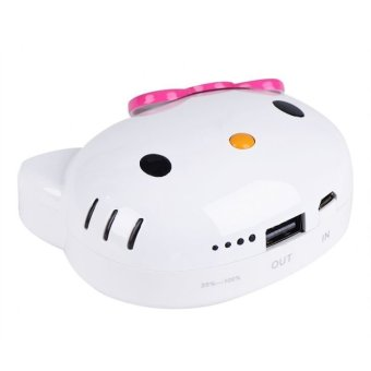 Hello Kitty 8000 mAh Portable Battery Charger (Pink) - picture 2