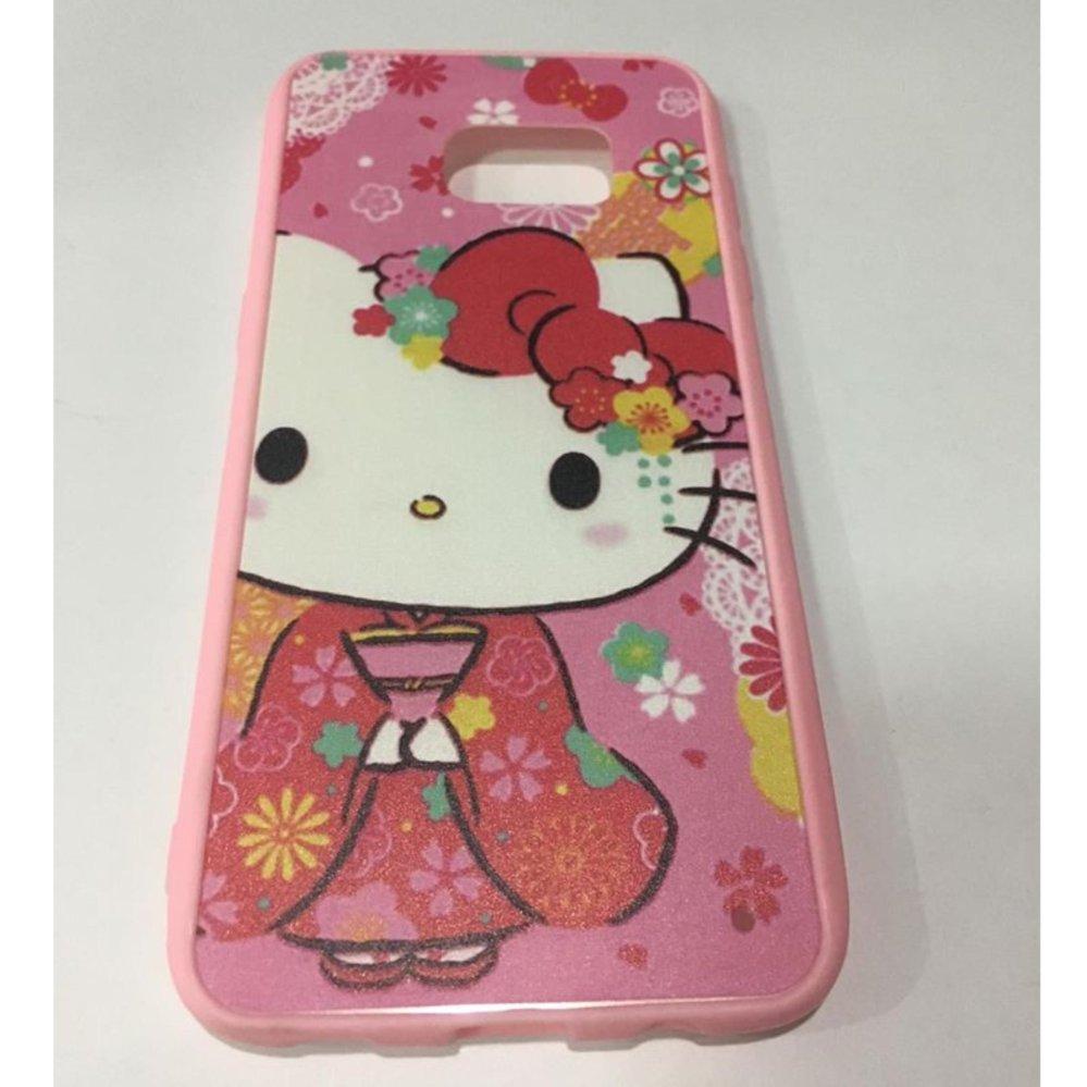 Hello Kitty Flexible TPU Case For Samsung Galaxy S7 EDGE .