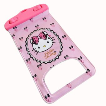 Hello Kitty waterproof bag for cellphone