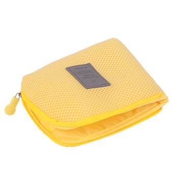 HengSong Small Camera Phone Storage Bag Yellow