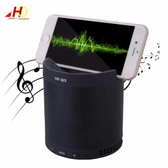 HFQ3 Wireless Bluetooth 2.1 Multifunction Sub-woofer Speaker(Black)