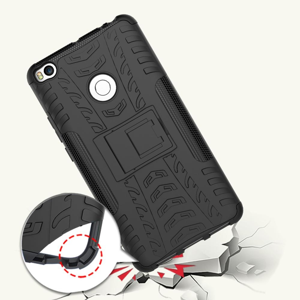 Hicase Detachable 2 in 1 Shockproof Tough Rugged Dual-Layer Case Cover for Xiaomi Mi ...