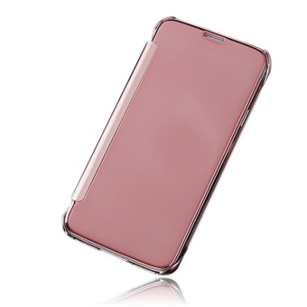 Hicase Mirror Smart Clear View Window Flip Case Cover For Samsung Galaxy S5 Rose Gold - intl - 2