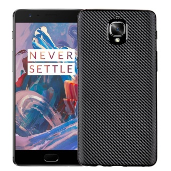 Hicase Ultra Light Slim Shockproof Silicone TPU Protective Case Cover for OnePlus 3 / One Plus 3T Black - intl