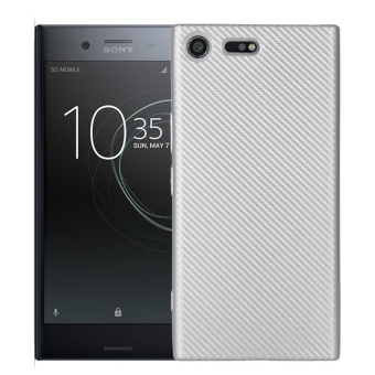 Hicase Ultra Light Slim Shockproof Silicone TPU Protective Case Cover for Sony Xperia XZ Premium Silver