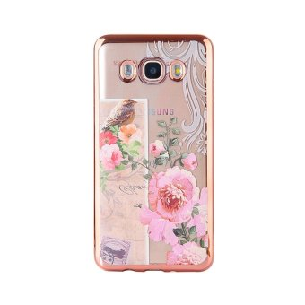Hicase Ultra-Thin Soft Gel TPU Silicone Case For Samsung Galaxy Grand Prime Plus / J2 Prime Birds and flowers - intl - 2