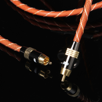 High Performance Digital Coaxial Interconnect Cable Audio/Video RCA Cable - 3