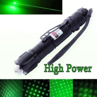 High Power Green Laser Pointer Pen 10 Mile Range 532High Power Green Laser Pointer Pen 10 Mile Range 532nm Visible Beam Lazernm Visible Beam Lazer (battery not included) - intl