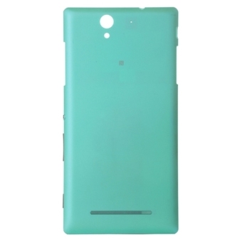 High Quality Back Cover Replacement for Sony Xperia C3 (Blue)